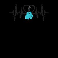 Boxhandschuhe und Heartbeat Boxer Geschenk