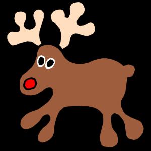 Rentier Weihnachten