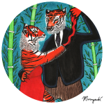 Salsa Dancing Tigers