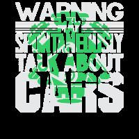 Warnung Ich darf spontan Autos sprechen