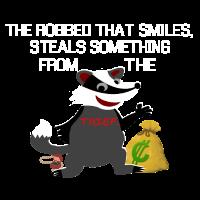 Honey badger Honigdachs Dieb Thief