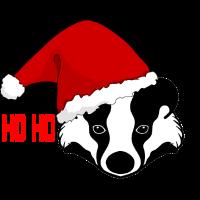 Honey badger Honigdachs Weihnachtsgeschenk