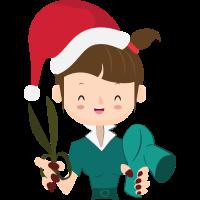Friseuse Friseurin Tshirt Weihnachtsgeschenk