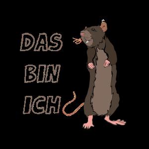 Ratte Das bin ich Maus