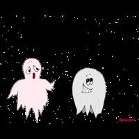 HALLOWEEN wuerstchen geist comic fun