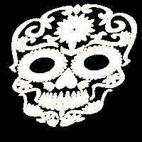 Stylischer Totenschaedel