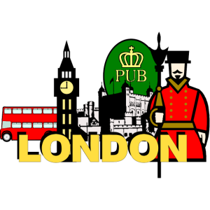 England London Big Ben Beef Eater