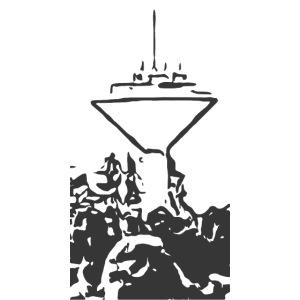 Wasserturm Rottweil schwarz