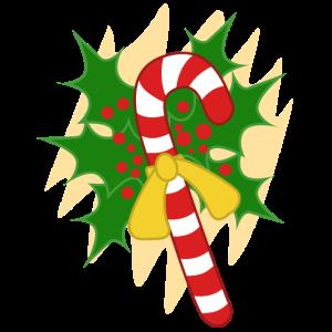 Weihnachts Zuckerstange