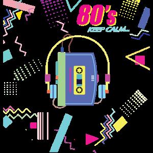 80s keep calm