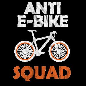 Anti E Bike Fahrrad Mountain Bike MTB Geschenkidee