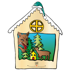 Der Wolf und die sieben Geißlein - Ugly Christmas