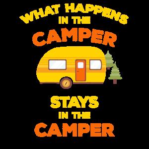 Was passiert in den Camper Aufenthalte in Camper Camping