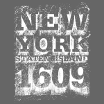 New York Staten Island 1609 (white)