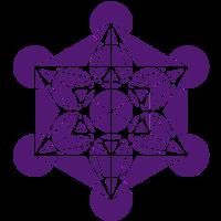 Metatrons Würfel - c - Heilige Geometrie - Cube /