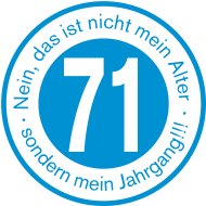 Jahrgang 1970 Geburtstagsshirt: 1971 - Jahrgang 71