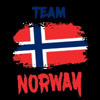 Team Norwegen / Geschenk Skandinavien Oslo