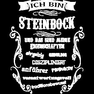 STEINBOCK - GEBURTSTAG