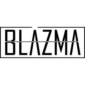 Blazma Black Front Big Logo