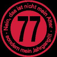 Jahrgang 1970 Geburtstagsshirt: Jahrgang 1977 geboren