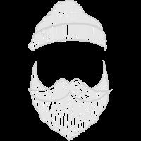 Bart mit Mütze