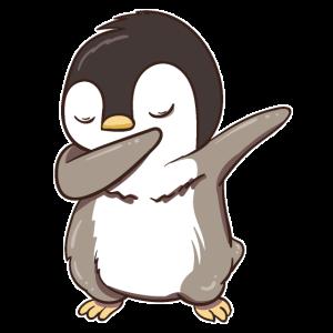 Pinguin Pinguine Dabbing Dabbin Dab Geschenk