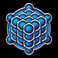 3D Cube - Kornkreis - Metatrons Würfel - Hexagon/