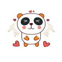 Life is good - Panda - Statement
