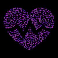 Der Binäre Herzschlag - Purpur
