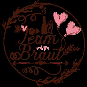Team Braut transparent