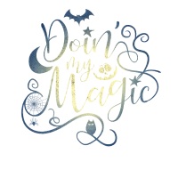 Doing My Magic Halloween Kürbis Zauberer