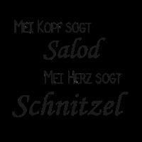 Kopf sagt Salat, Herz sagt Schnitzel / Geschenk