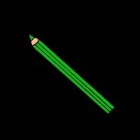 Grüner Buntstift