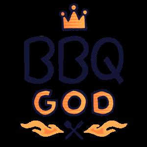 Grillen BBQ Gott Grillkönig