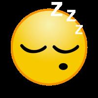 Schlafen Emoji Müde Geschenk