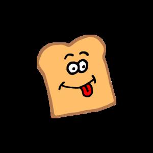 Toast Gesicht Comic
