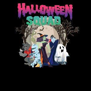 Halloween Freunde