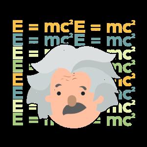 Einstein Physiker Physik Student E=mc² Geschenk