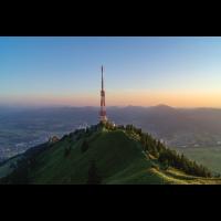 Allgäuer Poster, Grünten, Allgäuer Alpen, Ausblick