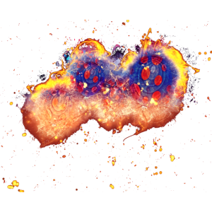 Ballon Clipart brennend