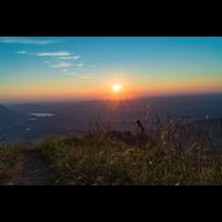 Sonnenutergang, Berge, Sonnenuntergang Poster