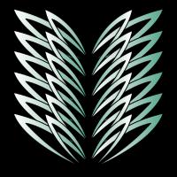 abstrakte Blätter