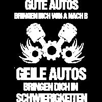 Geile Autos Schwierigkeiten - Shirt für Autofreaks
