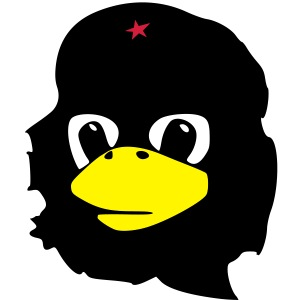 Tux Linux Che Guevara