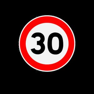 30. Geburtstag 30er Dreißigster 30 Zone Geschenk