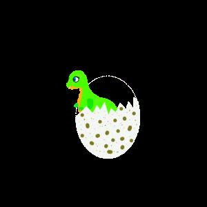 Dinosaurier im Ei