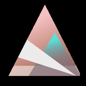 Dreiecks-Berg