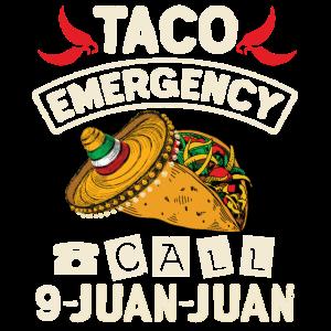 Taco Notruf 9 Juan Juan Taco Neuheit