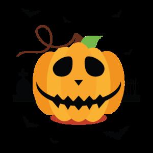 Jack-O-Laterne - Halloween-Hemd-Design