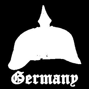 Germany Deutschland Militär Soldat Pickelhaube